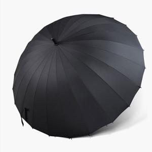 태풍 방풍 튼튼한 24K VIP 의전용 고급 대형 장우산