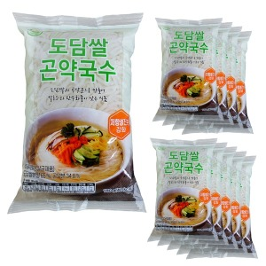 대신곤약 도담쌀곤약국수 180g x 10팩 100g당 23kcal