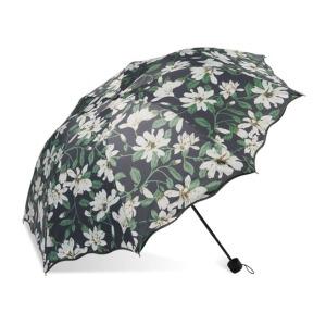 예쁜 플라워 자외선차단 암막 양산 3단 우산 우양산