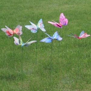 원예 텃밭 정원 마당 잔디밭 조경 용품 나비 20cm