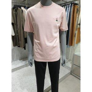 남성 스몰아트윅 자수 티셔츠 O192TS220P