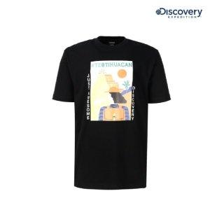공용 디스커버러 라운드 티셔츠 DXRT91931