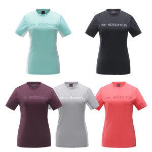 로고 라운드 여성 티셔츠   / 등산티라운드티반팔 (DMS18214)