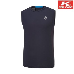 콜핑 남성 아이스본 민소매 라운드 티셔츠 라첵 KPT4751M