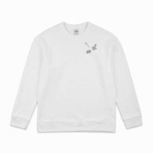 남성 맨케이브 모티브 자수 스웨트 셔츠 (M192MTS901M)