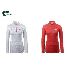 네파 여성 프로비도 집업티셔츠 7E45436