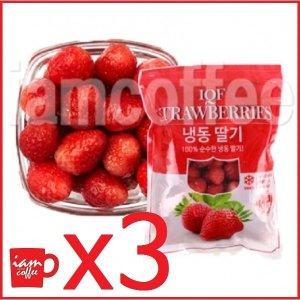 논산딸기냉동 딸기 국내산 1kg X 3ea