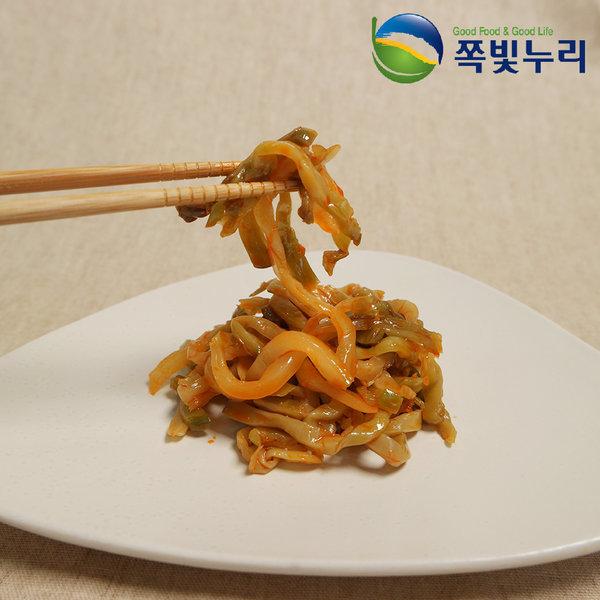 중화요리 반찬 무우채 짜사이채무침 1kg 본토 특급반찬
