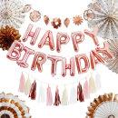 생일파티세트HD_팬(로즈골드) / 파티용품 생일 생신