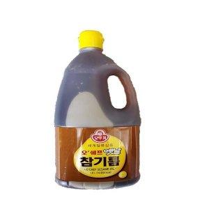 오뚜기 오쉐프 옛날참기름 1.8L / 오뚜기참기름