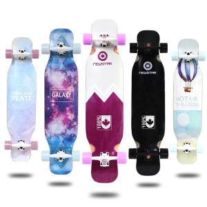 뉴스타 롱보드 41인치 입문형 컴플릿 스케이트보드