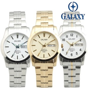 갤럭시 야광기능 50M 방수 사파이어 글라스 손목시계