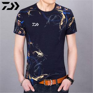 다이와 셔츠 낚시 의류 여름 짧은 소매 반팔 티셔츠
