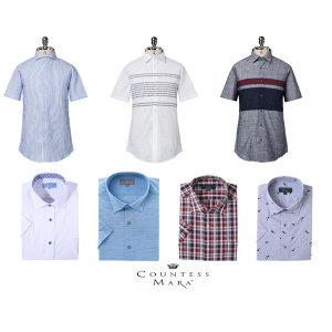 (신세계센텀점)반소매(일반/슬림형)셔츠  남방 가성비좋은 추천상품 36종 택1 CDCT1B7102