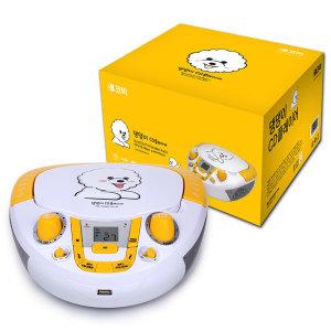 어학 블루투스 포터블 CD플레이어 MP3 USB BTCD10
