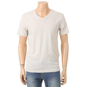 닉스 남성 어깨 파이핑포인트 브이넥 반팔티셔츠 FNMMCTV102P