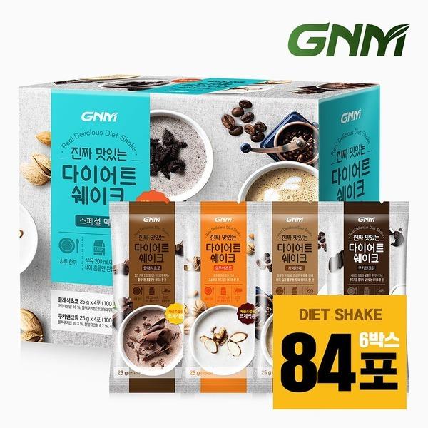 단백질 다이어트 쉐이크 스페셜믹스 6박스(84포)