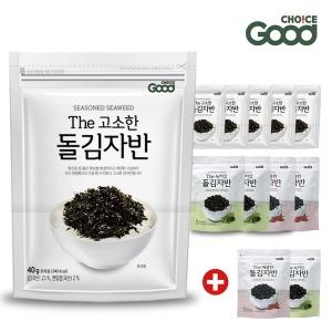 바다원 국산 김자반 40gX12봉 돌자반 김가루 파래김