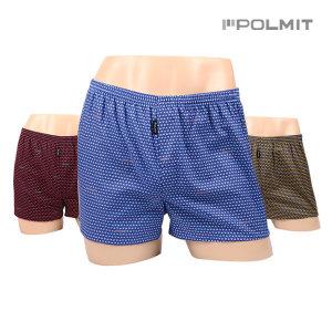 PORMIT/남성팬티/트렁크/만원대/팬티/P-388 3매세트
