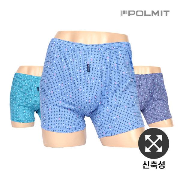 폴밋/남성/남자/트렁크/사각/팬티/니트 PMT-383(5) 3매