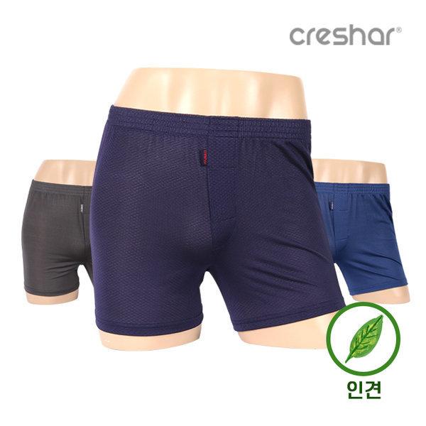 크레샤르/남성/남자/트렁크/사각/팬티/인견 CMT-2101