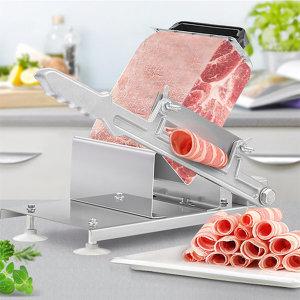가정용 수동 냉동 고기 슬라이서 육절기 절단기 대패기