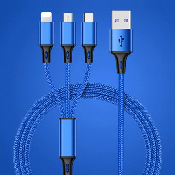 3in1 고속충전 멀티케이블 / USB 멀티충전케이블