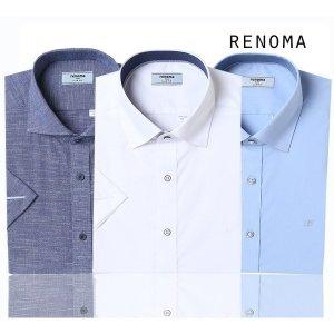 레노마_셔츠(남성)  2020년 레노마셔츠 유니크한 반소매 드레스셔츠 슬림일반핏30종