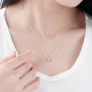 1부 다이아몬드 목걸이 국가보석감정사 선물 추천