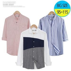 남자 봄 여름 셔츠/가디건/린넨바지
