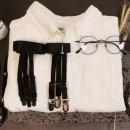 아트박스/갓샵 갓샵 남자가터벨트 와이셔츠고정 남성용 상의 셔츠빠짐방지 밴드 홀더락