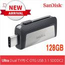 샌디스크 Ultra Dual TYPE-C OTG USB 31 DC2(128GB)