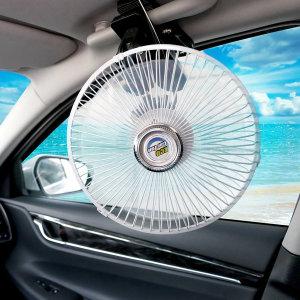 에코 8인치 12V 차량용 선풍기 클립형 자동차 차량