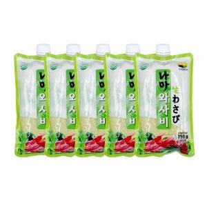 (무료배송)녹미원 생와사비(나마)750g 5EA 세트상품
