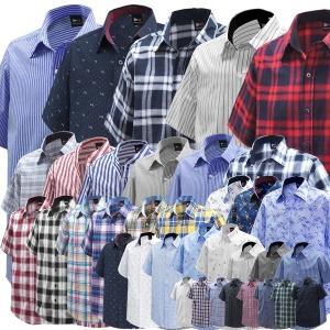 빅사이즈 남성의류 반팔셔츠/남방/와이셔츠/모음전