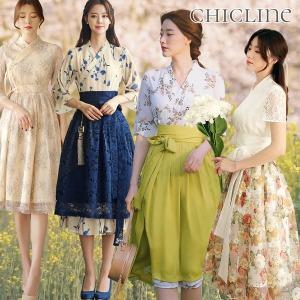 철릭원피스/XL까지~빅사이즈/생활/한복/봄/여름