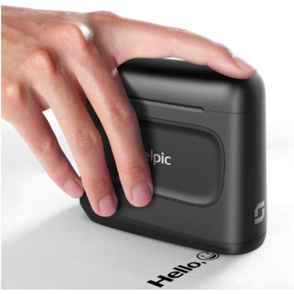 Selpic S1 속건 핸디 프린터 모든 표면 대응 가능 흑
