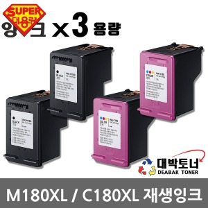 삼성재생잉크 M180 C180 SL-J1660 SL-J1663 SL-J1665