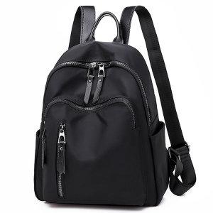 N41 가죽 여성 백팩 가벼운 여행용 직장인 미니 가방