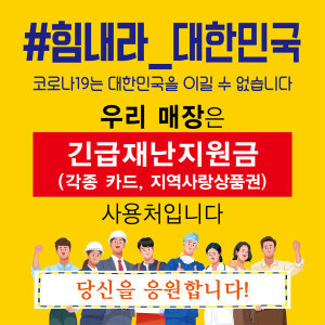긴급재난지원금 각종카드 지역사랑상품권 사용처 1m