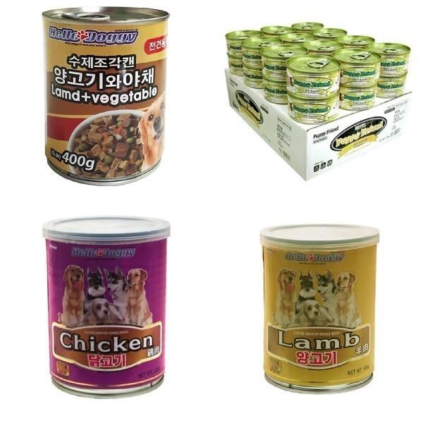 애견 캔 간식 통조림 영양 먹이 강아지용 애완견 습식