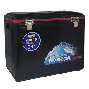 코스모스 아이스박스 블랙 24리터 WJ712 캠핑 낚시