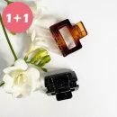 다주드 / 11 사각 레오파드 블랙 집게핀 헤어핀