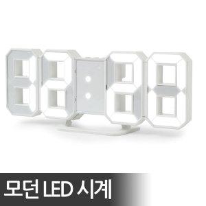 터치미 인테리어 벽시계 무소음 LED 디지탈 시계 1m줄