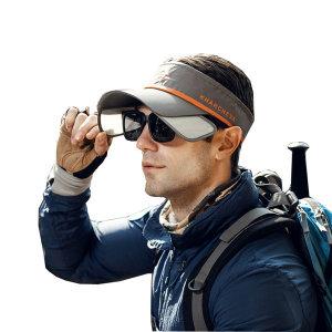 KH 접이식 선바이저/여름 비치 모자/골프 등산 캡모자