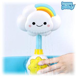 목욕놀이 무지개 아기구름 샤워기_수동/물놀이장난감