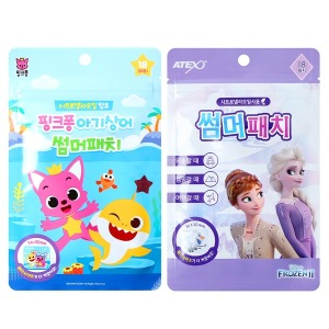겨울왕국 핑크퐁 썸머패치 모기패치 스티커 5팩