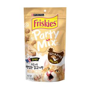 프리스키 파티믹스 치킨 그레이비 고양이간식60g x1개