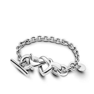 판도라 Knotted Heart Bracelet Sterling 598100