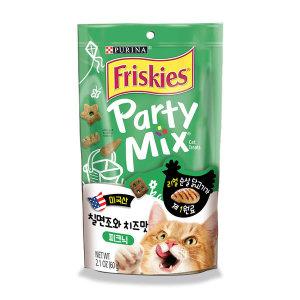 프리스키 파티믹스 피크닉 고양이간식 60g x1개